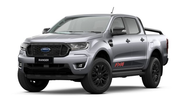 New Ford Ranger PX MkIII 2021.75MY FX4 Homebush, 2021 Ford Ranger PX MkIII 2021.75MY FX4 Aluminium Silver 6 Speed Sports Automatic Double Cab Pick Up