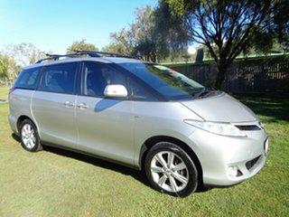 2009 Toyota Tarago ACR50R MY09 GLX Silver 4 Speed Sports Automatic Wagon.