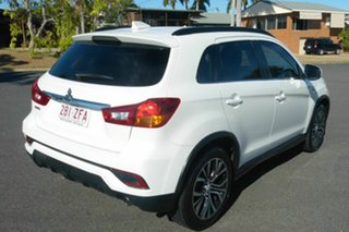 2017 Mitsubishi ASX XC MY18 LS 2WD White 1 Speed Constant Variable Wagon.