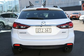2018 Mazda 6 GL1031 Sport SKYACTIV-Drive White 6 Speed Sports Automatic Wagon