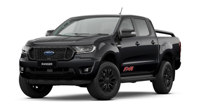 New Ford Ranger PX MkIII 2021.75MY FX4 Homebush, 2021 Ford Ranger PX MkIII 2021.75MY FX4 Shadow Black 6 Speed Sports Automatic Double Cab Pick Up