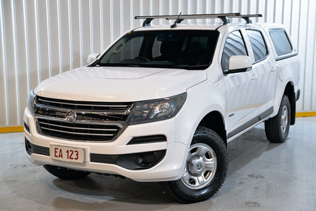 Used Holden Colorado RG MY18 LS Pickup Crew Cab 4x2 Hendra, 2017 Holden Colorado RG MY18 LS Pickup Crew Cab 4x2 White 6 Speed Sports Automatic Utility