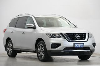 2017 Nissan Pathfinder R52 Series II MY17 ST X-tronic 2WD Silver 1 Speed Constant Variable Wagon