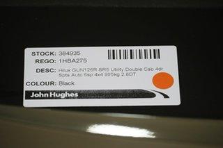 2020 Toyota Hilux GUN126R SR5 Double Cab Black 6 Speed Sports Automatic Utility