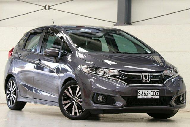 Used Honda Jazz GF MY18 VTi-S Glen Osmond, 2017 Honda Jazz GF MY18 VTi-S Modern Steel 1 Speed Constant Variable Hatchback