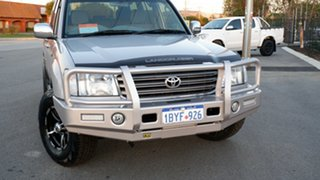 2005 Toyota Landcruiser UZJ100R GXL Silver 5 Speed Automatic Wagon.