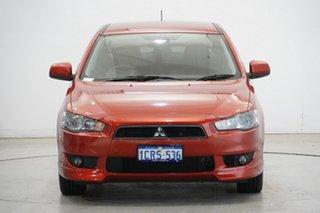 2007 Mitsubishi Lancer CH MY07 VR-X Red Metallic 4 Speed Sports Automatic Sedan.