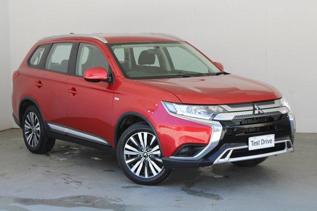 Used Mitsubishi Outlander ZL MY19 ES 2WD Phillip, 2019 Mitsubishi Outlander ZL MY19 ES 2WD Red 6 Speed Constant Variable Wagon