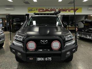 2016 Toyota Landcruiser VDJ200R MY16 VX (4x4) Silver 6 Speed Automatic Wagon.