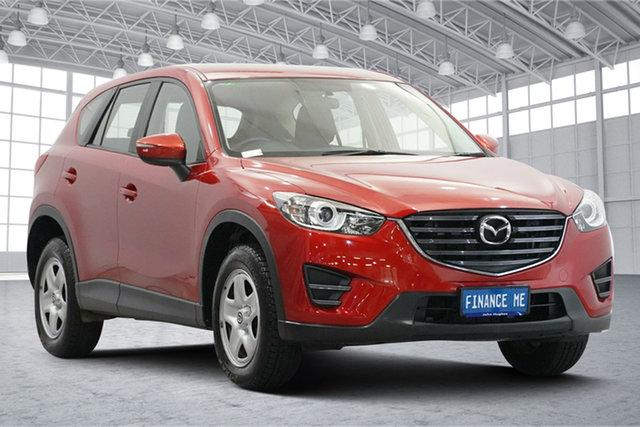 Used Mazda CX-5 KE1072 Maxx SKYACTIV-Drive FWD Victoria Park, 2016 Mazda CX-5 KE1072 Maxx SKYACTIV-Drive FWD Red 6 Speed Sports Automatic Wagon