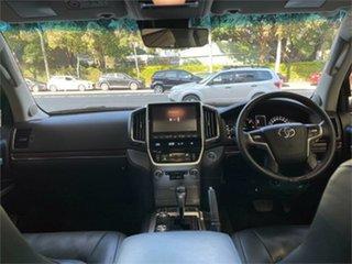 2017 Toyota Landcruiser VDJ200R Sahara White Sports Automatic Wagon
