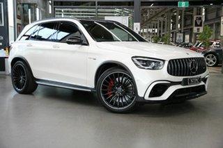 2020 Mercedes-Benz GLC-Class X253 801MY GLC63 AMG SPEEDSHIFT MCT 4MATIC+ S White 9 Speed.