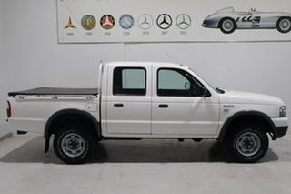 2006 Ford Courier PH (Upgrade) GL Crew Cab 4x2 White 5 Speed Manual Utility