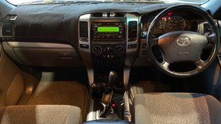 2004 Toyota Landcruiser Prado GRJ120R GXL Silver 4 Speed Automatic Wagon