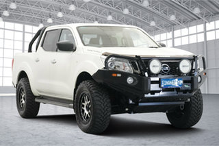 2017 Nissan Navara D23 S2 ST N-SPORT White 7 Speed Sports Automatic Utility.