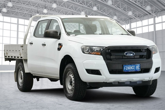 Used Ford Ranger PX MkII XL Hi-Rider Victoria Park, 2017 Ford Ranger PX MkII XL Hi-Rider White 6 Speed Sports Automatic Cab Chassis