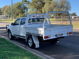 2017 Holden Colorado RG MY18 LS (4x4) White 6 Speed Automatic Crew Cab Chassis