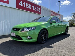 2009 Ford Falcon FG XR6 Ute Super Cab Turbo Green 6 Speed Sports Automatic Utility