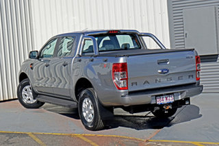 2016 Ford Ranger PX MkII XLS Double Cab Silver 6 Speed Manual Utility.