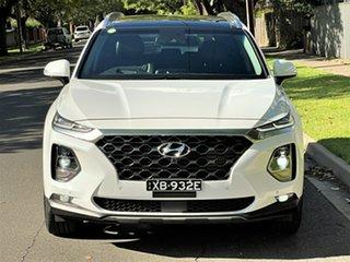 2019 Hyundai Santa Fe TM MY19 Highlander White 8 Speed Sports Automatic Wagon.
