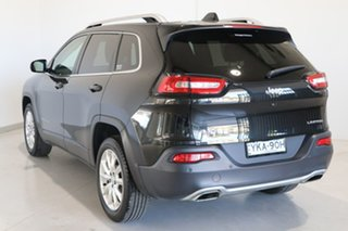 2015 Jeep Cherokee KL MY15 Limited Black 9 Speed Sports Automatic Wagon.