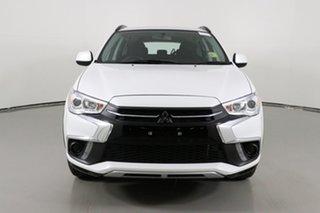 2019 Mitsubishi ASX XC MY19 ES (2WD) White Continuous Variable Wagon.