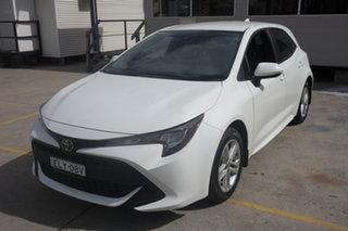 2018 Toyota Corolla Mzea12R Ascent Sport i-MT White 6 Speed Manual Hatchback.