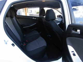 2012 Hyundai Accent RB Active White 4 Speed Sports Automatic Hatchback