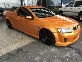 2010 Holden Commodore VE II SV6 Orange 6 Speed Manual Utility.