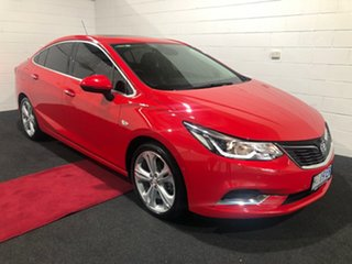 2017 Holden Astra BL MY18 LTZ Absolute Red 6 Speed Sports Automatic Sedan.