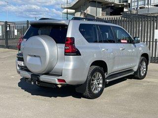 2017 Toyota Landcruiser Prado GDJ150R Kakadu Silver 6 Speed Sports Automatic Wagon