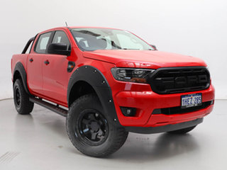 2020 Ford Ranger PX MkIII MY21.25 XLS 3.2 (4x4) Red 6 Speed Automatic Double Cab Pick Up.