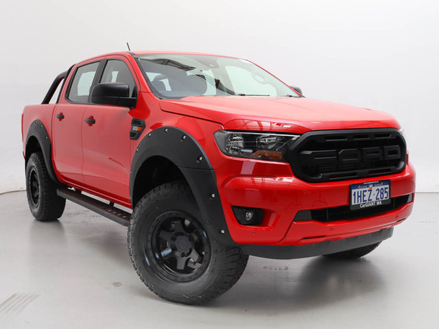 Used Ford Ranger PX MkIII MY21.25 XLS 3.2 (4x4), 2020 Ford Ranger PX MkIII MY21.25 XLS 3.2 (4x4) Red 6 Speed Automatic Double Cab Pick Up