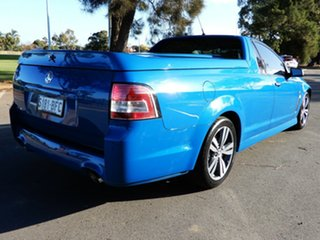 2014 Holden Ute VF MY15 SV6 Ute Blue 6 Speed Sports Automatic Utility.