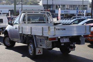 2012 Mitsubishi Triton MN MY12 GL 4x2 Silver 5 Speed Manual Cab Chassis.