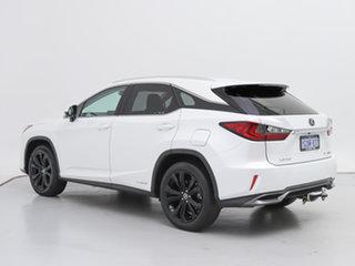 2019 Lexus RX450H GYL25R Luxury Hybrid White Continuous Variable Wagon