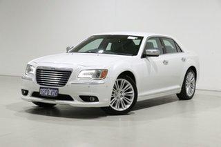 2013 Chrysler 300 MY12 C Luxury White 8 Speed Automatic Sedan.