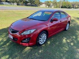2010 Mazda 6 GH1051 MY09 Classic Maroon 6 Speed Manual Hatchback.