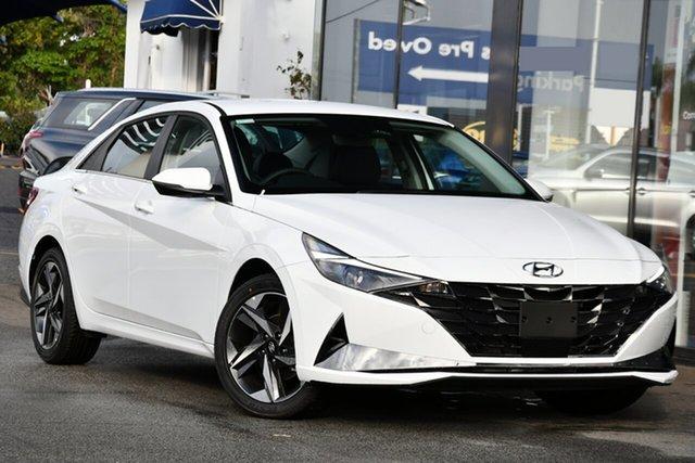 New Hyundai i30 CN7.V1 MY21 Active Reynella, 2021 Hyundai i30 CN7.V1 MY21 Active Polar White 6 Speed Auto Sequential Sedan