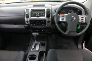 2010 Nissan Navara D40 ST (4x4) Black 5 Speed Automatic Dual Cab Pick-up