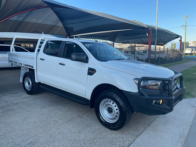 Used Ford Ranger PX MkII MY17 XL 3.2 (4x4) Toowoomba, 2016 Ford Ranger PX MkII MY17 XL 3.2 (4x4) White 6 Speed Automatic Crew Cab Chassis