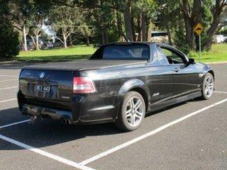 2011 Holden Ute VE II SS Black Manual Utility.