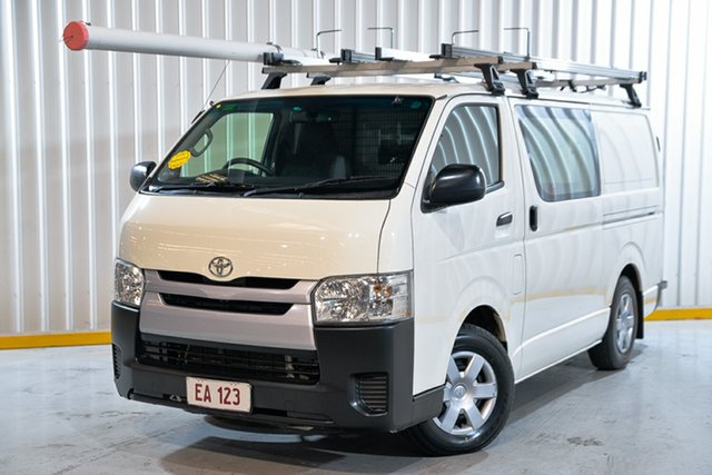 Used Toyota HiAce KDH201R LWB Hendra, 2015 Toyota HiAce KDH201R LWB White 4 Speed Automatic Van