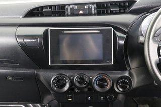 2017 Toyota Hilux GUN126R SR (4x4) White 6 Speed Manual Dual Cab Utility