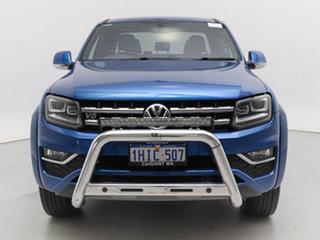 2019 Volkswagen Amarok 2H MY19 V6 TDI 580 Ultimate Blue 8 Speed Automatic Dual Cab Utility.