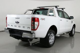 2015 Ford Ranger PX XLT 3.2 (4x4) White 6 Speed Automatic Double Cab Pick Up