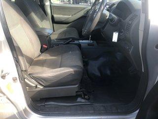 2013 Nissan Navara D40 MY13 RX (4x2) Silver 5 Speed Automatic Dual Cab Pick-up