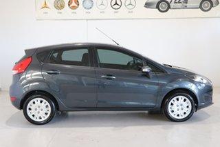 2014 Ford Fiesta WZ MY15 Ambiente PwrShift Grey 6 Speed Sports Automatic Dual Clutch Hatchback