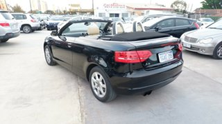 2010 Audi A3 8P MY10 TFSI S Tronic Attraction Black 7 Speed Sports Automatic Dual Clutch Convertible
