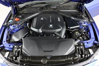 2017 BMW 330i F30 LCI M Sport Estoril Blue 8 Speed Automatic Sedan